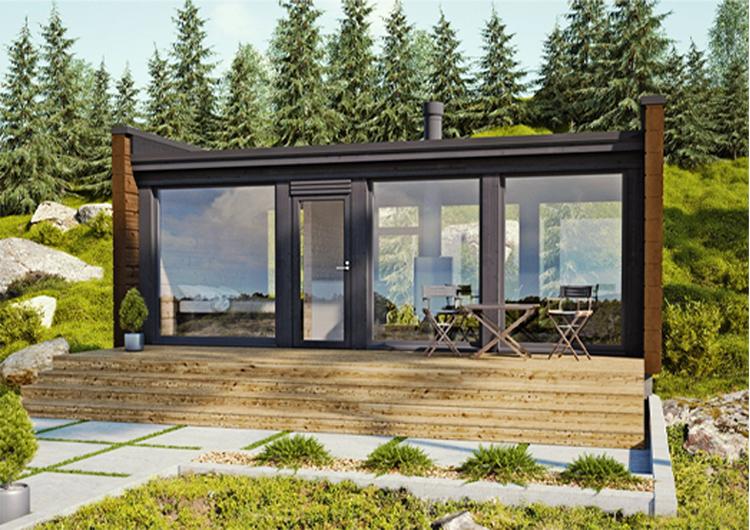 Glass House 30 - Log Cabin